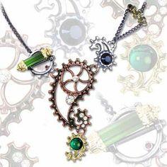 Alchemy Gothic - Ingenieurial Elegance Pendant