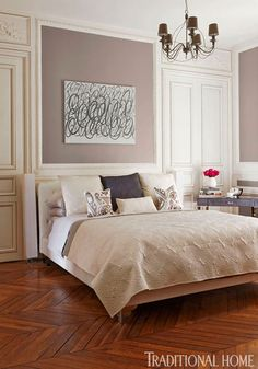 Colorful and Romantic Paris Apartment - Traditional Home®