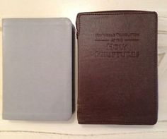 bible covers jehovah's witnesses | Details about NEW WORLD TRANSLATION BIBLE COVER JEHOVAH'S WITNESS
