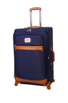 "Jessica Simpson Socialite Navy 28"" Expandable Spinner Upright on HauteLook"