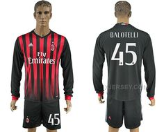 http://www.xjersey.com/201617-ac-milan-45-balotelli-home-long-sleeve-soccer-jersey.html Only$35.00 2016-17 AC MILAN 45 BALOTELLI HOME LONG SLEEVE SOCCER JERSEY Free Shipping!