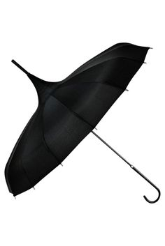 """Add a touch of Gothic whimsy to your look with this stunning, unique """" Gothic Witch """" umbrella. This umbrella is standard size and is waterproof. Perfect for blocking out the sun on a hot day, or goin"""