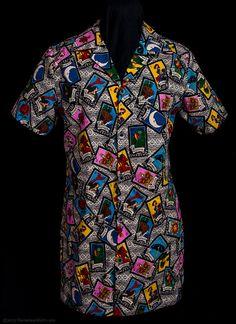 tarot card dress