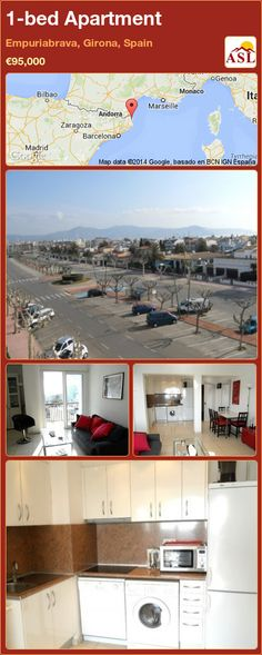 1-bed Apartment in Empuriabrava, Girona, Spain ►€95,000 #PropertyForSaleInSpain