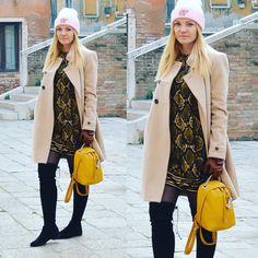 #coat #backpack #overknee #furla ##stuartweitzman #michaelkors #zara #camel #leo #leopard #blogger