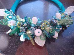Kralaria / Erika Nooteboom Erika, Hanukkah, Wreaths, Jewelry, Home Decor, Jewlery, Decoration Home, Door Wreaths, Bijoux