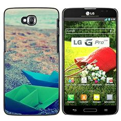 Planetar ( Paper Boats Origami ) LG G Pro Lite / D680 D682TR Colorful Printed Hard Protective Back Case Cover Shell Skin * To view further for this item, visit the image link.
