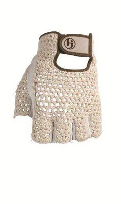 7e658b3406db HJ Glove Women s Snow White Original Half Finger Golf Glove
