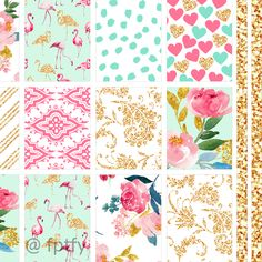 Free Planner Printables: Since my Summer Love 12×12 digitalpaper collection is one of my absolutely favorite freebies of all time .. I decided to create a matching printable set that fits both the Happy and Erin Condren planner with extra matching washi tape!!! Ek is right!! :) All the florals, hearts, flamingos, pinks, blues and...Read More »