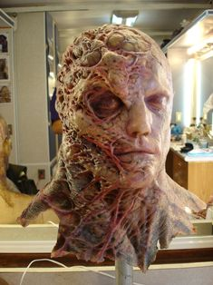 Special Effects Makeup Arte Horror, Horror Art, Creature Feature, Creature Design, Tyrant Resident Evil, Zbrush, Prosthetic Makeup, Sfx Makeup, Movie Makeup