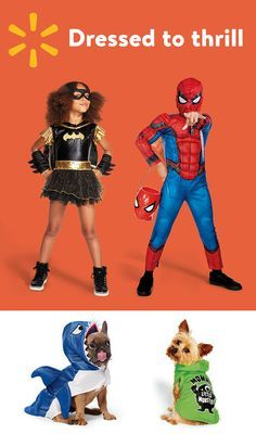 Check out Walmart's weekly ad for all your Halloween costume needs.