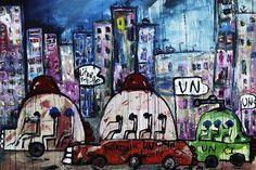 #aboudia #art #artist #ivorycoast #africa #cities #artisttowatch