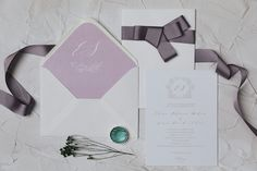 Wedding monogram for your stationery suite ❤️ Textured paper, envelope liner,, calligraphy fonts, beautiful ribbon for a feminine look. Monogram Wedding Invitations, Wedding Invitation Design, Wedding Stationery, Envelope Liners, Calligraphy Fonts, Wax Seals, Personalized Wedding, Paper Texture, Wedding Day