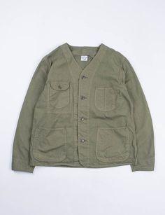 orSlow Army Poplin Rail Road Jacket SPECIAL