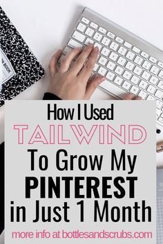 How I Used Tailwind for Pinterest to Grow my Blog - Bottles and Scrubs Promotion Work, Emergency Room Nurse, Pinterest For Business, Make Money Blogging, News Blog, Pinterest Marketing, Social Media Tips, Content Marketing, Like4like