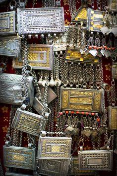 Omani silver jewellery