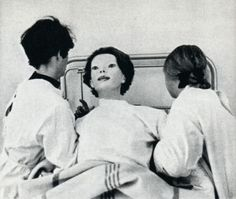 "In June of 1972, a woman appeared in Cedar Senai hospital in nothing but a white gown covered in blood. Now this in itself should not be too surprising as people often have accidents nearby and come to the nearest hospital for medical attention. But although she had normal human composition, she looked like a mannequin, had a kitten between her teeth, never changed expression, was extremely strong, had spikes for teeth, bit a Dr., said ""I Am God."" and ran away."