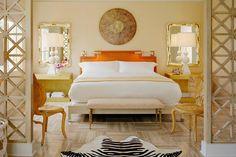 Tides South Beach boutique hotel, Miami, Florida. Courtesy of Kelly Wearstler. From the L'AB feature: Lady Luxe: An interview with Kelly Wearstler, the reigning queen of American interior design.