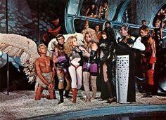 Roger Vadim, Mario Garbuglia @ Barbarella (1968)  Starring: Jane Fonda, John Philip Law, Anita Palllenberg, David Hemmings