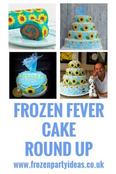 Frozen Fever Snowgies Cupcakes Recipes to Cook Pinterest