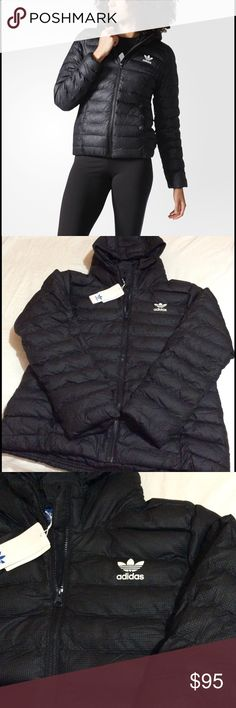 Adidas Originals Jacket Brand New. Shell: 100% structured polyester Filling : 100% synthetic down Lining: 100% taffeta Adidas Jackets & Coats