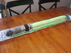 My Charming Cakes: Star Wars Light Saber Cake