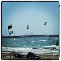 Are you ready to fly?  #travel #italy #sardinia #alghero #kiteboarding #kitesurf #surf #watersports