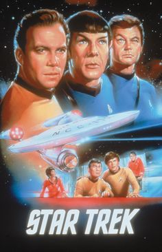 Pictures of William Shatner, Leonard Nimoy and the cast from the classic TV show Star Trek. Star Trek 1966, New Star Trek, Star Wars, Star Trek Tos, Star Trek Beyond, Star Trek Tv Series, Star Trek Original Series, Star Trek Characters, Star Trek Movies