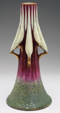 Rare Amphora vase, known as the Praying Mantis