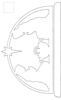 scroll saw patterns free templates - Nativity Diy How to Make Scroll Saw Patterns Free, Scroll Pattern, Cross Patterns, Wood Patterns, Pattern Art, Free Pattern, Christmas Stencils, Christmas Wood Crafts, Christmas Projects