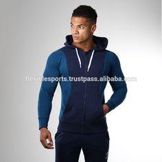 Wholesale Gym zipper Design Men Hoodie