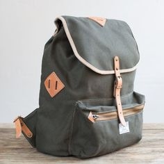A scaled down ruck for sojourns, school, or work.