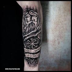 Славянские и скандинавские татуировки | эскизы's photos