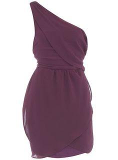 Purple one shoulder dress  Now$21.00