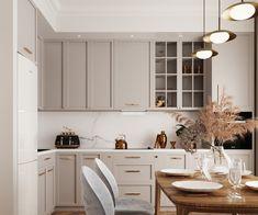 Kitchen Room Design, Kitchen Cabinet Design, Modern Kitchen Design, Living Room Kitchen, Home Decor Kitchen, Interior Design Kitchen, Home Kitchens, Kitchen Furniture, Home Design Decor