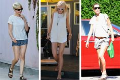 According to the New York Times, ladies require only 3 summer essentials -- sunnies, sandals & shorts. Couldn't agree more!