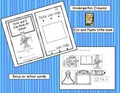 This is an interactive little book where students cut and paste the pictures that match the text. They also write the sight word