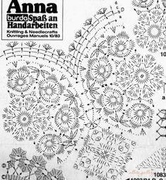 Romans z szydełkiem: marca 2015 Freeform Crochet, Crochet Art, Thread Crochet, Love Crochet, Crochet Granny, Irish Crochet, Crochet Stitches, Crochet Doily Patterns, Crochet Squares