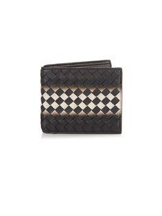 Dégradé-print intrecciato leather wallet  | Bottega Veneta | MATCHESFASHION.COM