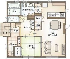 Japanese Style House, House Layouts, Tiny House, House Plans, Floor Plans, How To Plan, Interior Design, Architecture, Modern