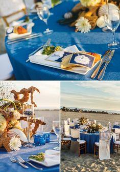 California Coastal Beach Wedding