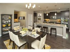 Functional Kitchen & Dinning Room