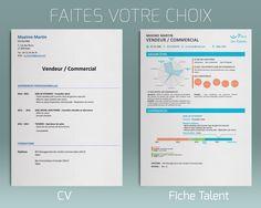 Comparaison CV - Fiche Talent