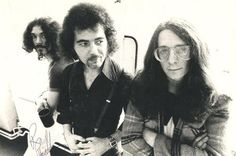 Classic photo of Shelley Burke with the great Tony Iommi of Black Sabbath