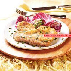 Receita de Bife à milanesa de forno | Guia da Cozinha