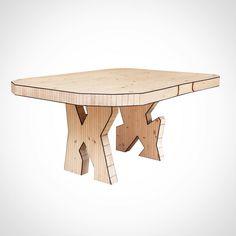 """좋아요 135개, 댓글 3개 - Instagram의 Lionel Jadot(@atelier_lioneljadot)님: """"Introduce you •Woody Wood• our new table project .Available in three size. #wood…"""""""