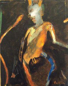 Rick Bartow - Rural American Dance , 2012  Devil