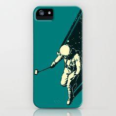 Cosmic Selfie iPhone & iPod Case by Angrymonk - $35.00