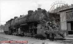 VGN Class AE #803 right 3/4 view @ Page, WV