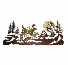 """Determine additional info on """"metal tree art projects"""". Take a look at our web site. Deer Wall Art, Metal Tree Wall Art, Rustic Wall Art, Metal Wall Decor, Metal Art, Wood Art, Tree Wall Decor, Wall Art Decor, Mountain Decor"""